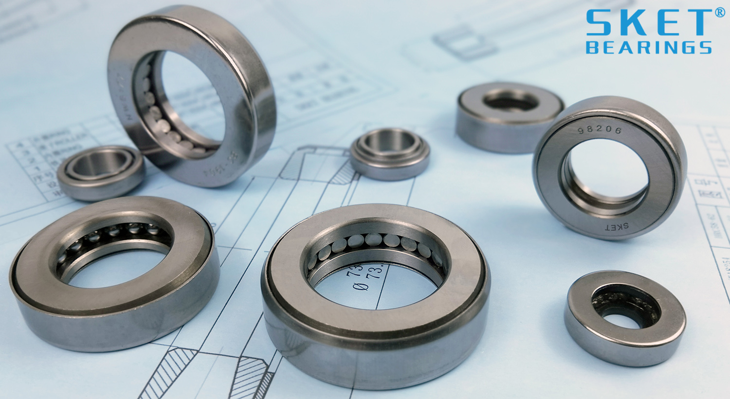 Thrust Roller Kingpin Bearings manufacturer in China